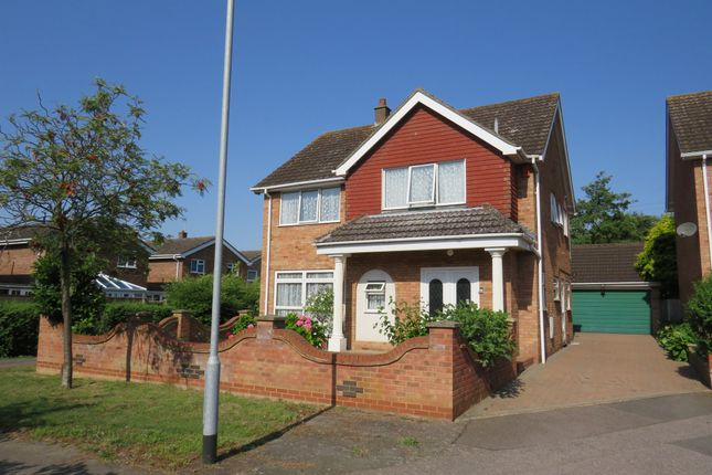 Thumbnail Detached house for sale in Lambourn Way, Bedford