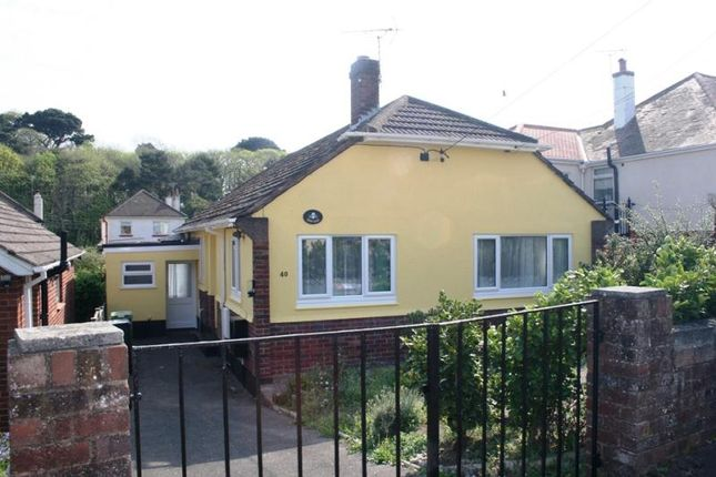 Thumbnail Detached bungalow to rent in Lower Drive, Dawlish