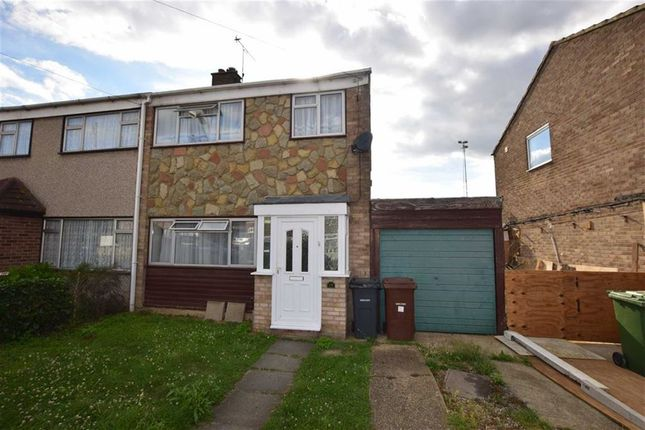 Thumbnail Semi-detached house to rent in Spindles, Tilbury, Essex