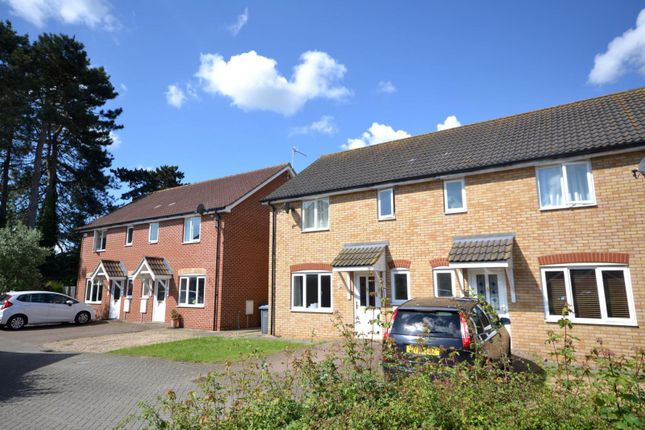 Thumbnail 3 bed semi-detached house to rent in Giffords Close, Kesgrave, Ipswich