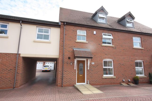 Thumbnail Semi-detached house to rent in Thacker Drive, Lichfield