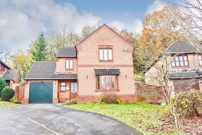 Thumbnail Detached house for sale in Primrose Close, Brackla, Bridgend .