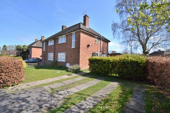 Thumbnail Semi-detached house for sale in Wickham Close, Church Crookham, Fleet