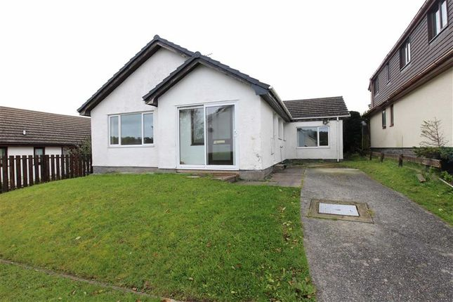 Thumbnail Detached bungalow for sale in Trefaenor, Comins Coch, Aberystwyth