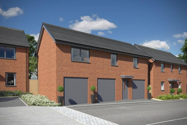 "Thumbnail Detached house for sale in ""Alverton"" at Station Road, Chepstow"