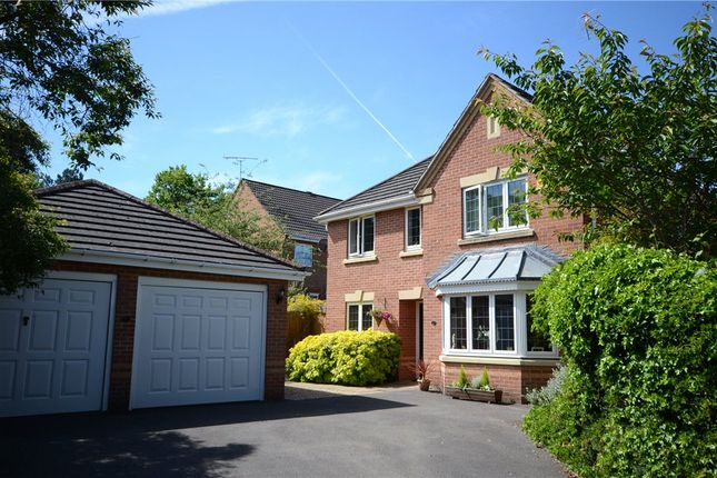 Thumbnail Detached house for sale in Rayner Drive, Arborfield, Reading