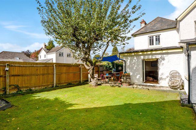 Rear Garden of Moorlands Road, West Moors, Ferndown, Dorset BH22