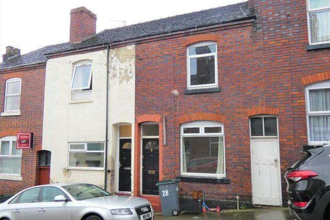 Thumbnail Terraced house to rent in Frank Street, Stoke, Stoke-On-Trent