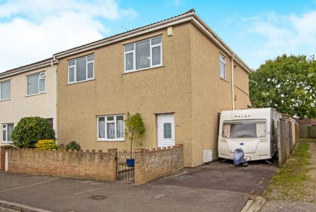 Thumbnail End terrace house for sale in Stockwell Drive, Mangotsfield, Bristol, South Glos