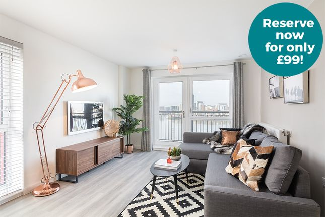 Thumbnail 1 bedroom flat for sale in Keel Road, Woolston, Southampton