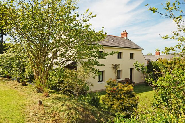 Thumbnail Country house for sale in Mathry, Haverfordwest, Pembrokeshire