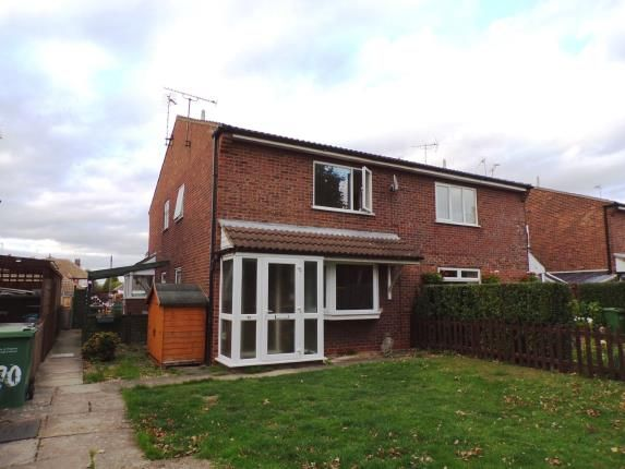 Thumbnail Semi-detached house for sale in Penney Close, Wigston, Leicester, Leicestershire