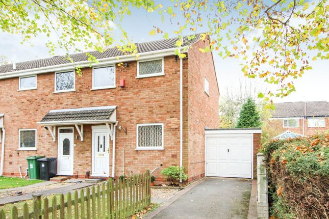 Thumbnail End terrace house for sale in Oldbury Close, Redditch
