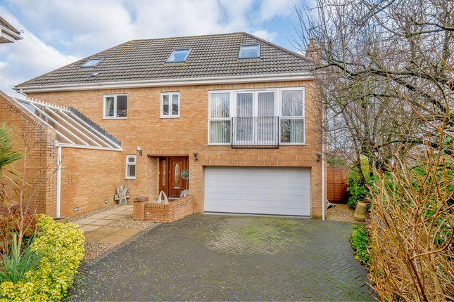 Thumbnail Detached house for sale in Savanna, Down Road, Alveston, Bristol