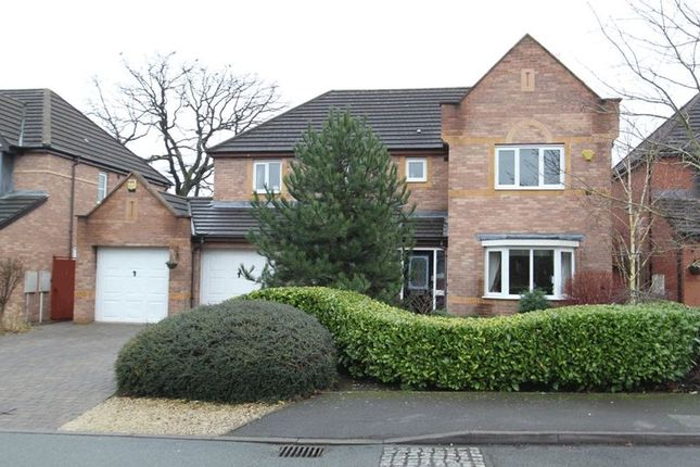 Thumbnail Detached house for sale in Collinbourne Close, Trentham, Stoke-On-Trent