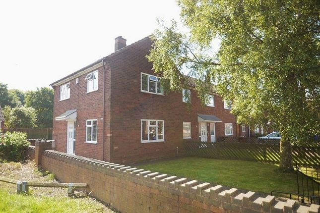 Thumbnail End terrace house to rent in Silver Birch Road, Norton Canes
