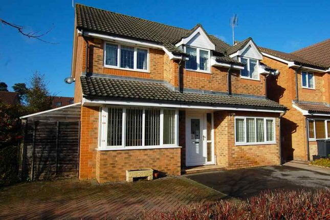 Thumbnail Detached house for sale in Canada Way, Bordon