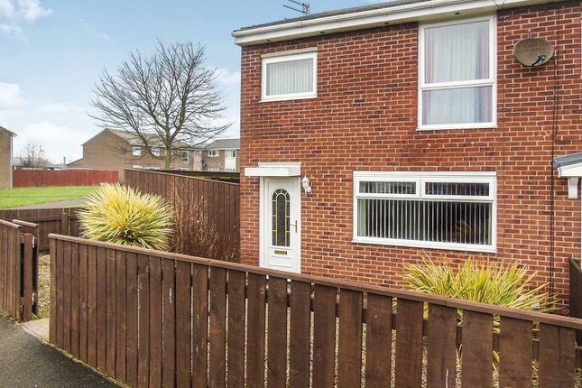 Thumbnail Terraced house to rent in Thorntree Gardens, Ashington