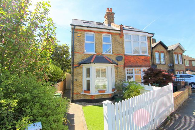 Thumbnail Semi-detached house for sale in Shorts Road, Carshalton