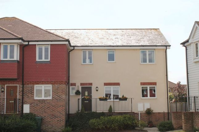 Thumbnail Terraced house for sale in Tekram Close, Edenbridge