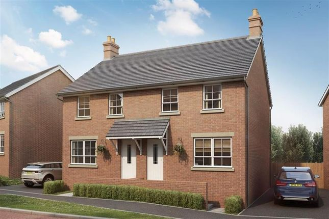 Thumbnail Semi-detached house for sale in Hanbury Locks, Pontrhydyrun, Cwmbran