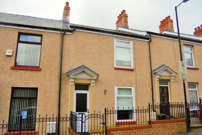 Thumbnail Terraced house to rent in Field Street, Landore, Swansea
