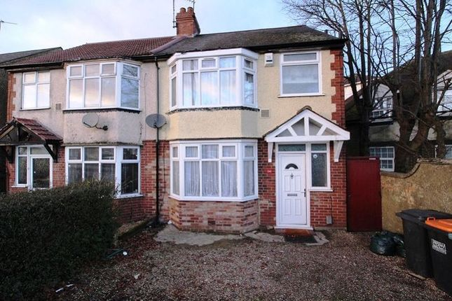 Thumbnail Semi-detached house to rent in Luton Road, Dunstable
