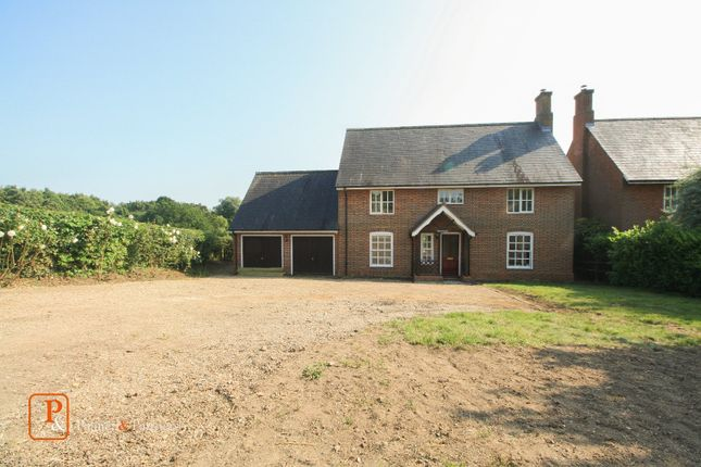 Thumbnail Detached house to rent in Bures Road, Nayland, Colchester, Essex