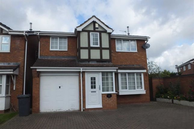 Thumbnail Detached house to rent in Knightsbridge Way, Burton On Trent, Staffs