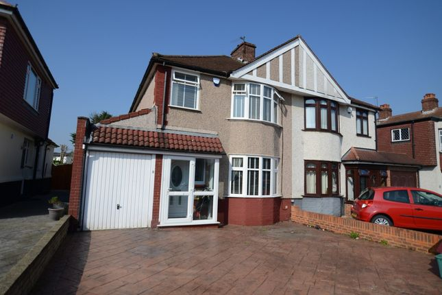 Thumbnail Semi-detached house for sale in Abbey Hill Road, Sidcup