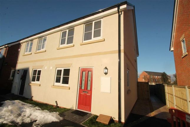 Thumbnail Semi-detached house to rent in Trumpet Close, Gobowen, Shropshire