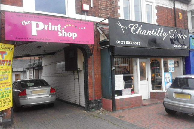 Thumbnail Retail premises for sale in West Heath Road, Northfield, Birmingham