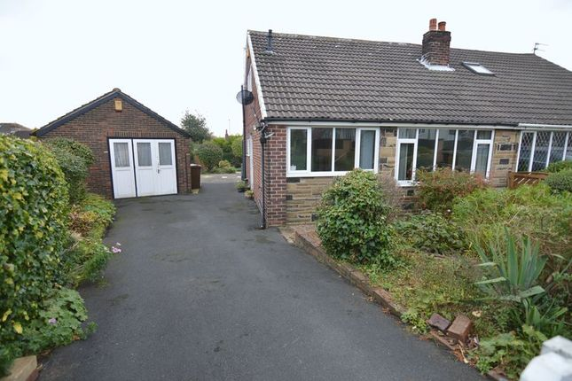 Thumbnail Semi-detached bungalow for sale in Lingwell Gate Drive, Outwood, Wakefield