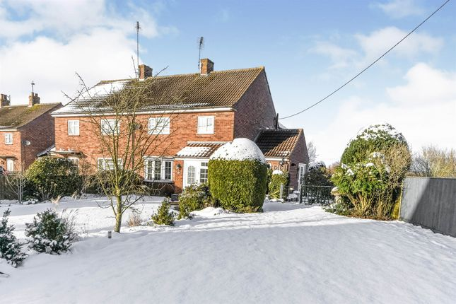 3 bed semi-detached house for sale in Stocks Close, Great Bircham, King's Lynn PE31