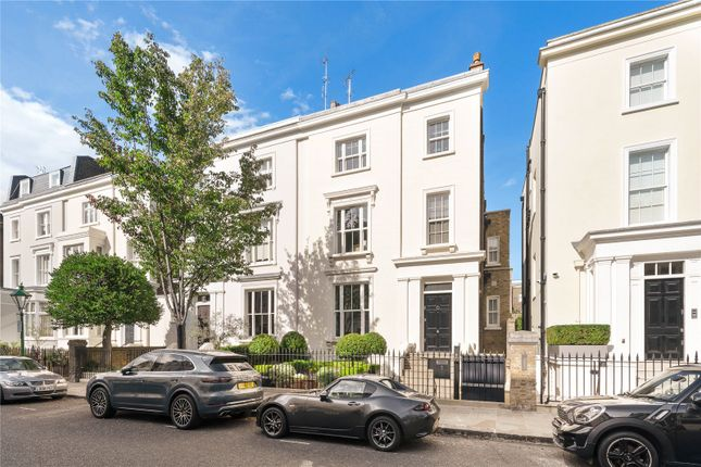Thumbnail Semi-detached house for sale in Cottesmore Gardens, Kensington, London