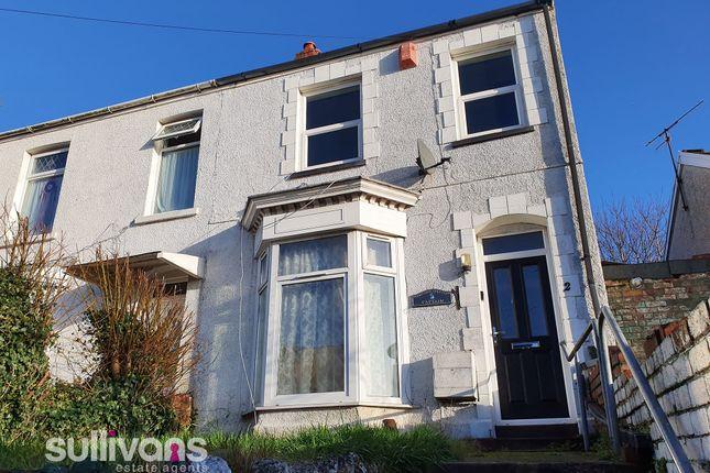 External of Kilvey Terrace, St Thomas, Swansea SA1