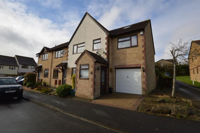 Thumbnail Terraced house for sale in Blenheim Close, Peasedown St. John, Bath