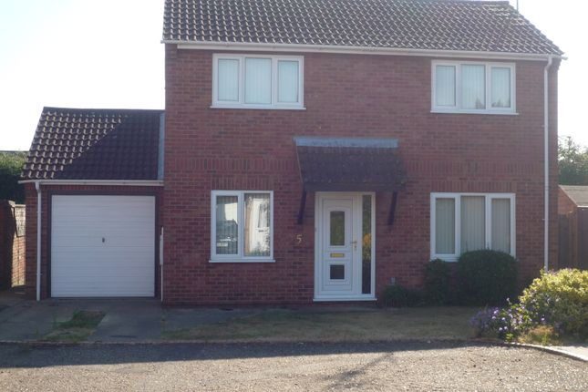 Thumbnail Detached house to rent in Tanglewood, Peterborough
