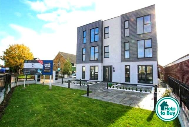 Thumbnail 1 bed flat for sale in Christopher Close, Sidcup, Kent