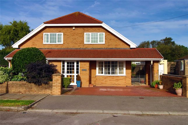 Thumbnail Bungalow for sale in Ty Newydd, Heol Croes Faen, Nottage, Porthcawl