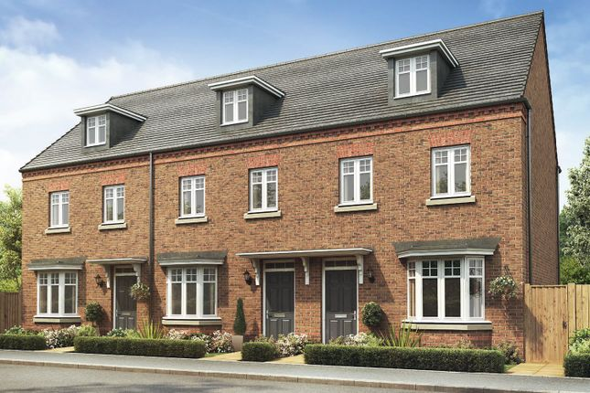 """Thumbnail End terrace house for sale in """"Kennett"""" at Station Road, Chelford, Macclesfield"""