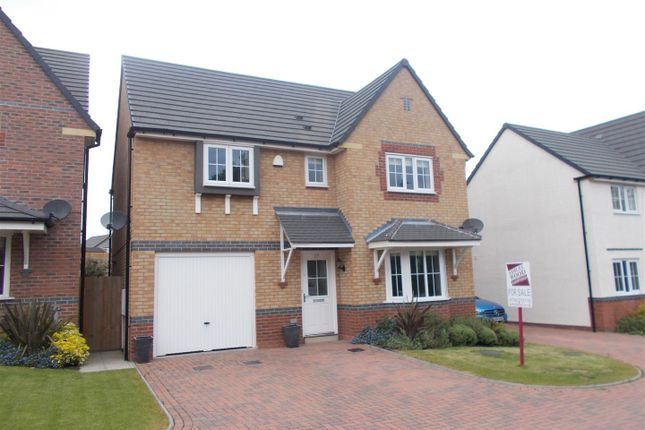 Thumbnail Detached house for sale in Greenfinch Drive, Shrewsbury