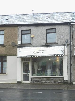Thumbnail Retail premises for sale in Bute Street, Treorchy