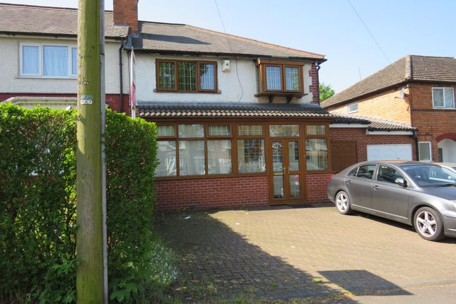 Thumbnail Semi-detached house for sale in Shaftmoor Lane, Hall Green, Birmingham