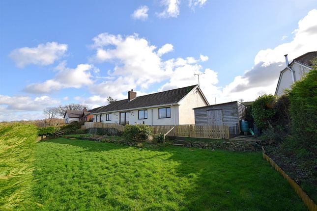 Thumbnail Detached bungalow for sale in Penlon Road, Newcastle Emlyn