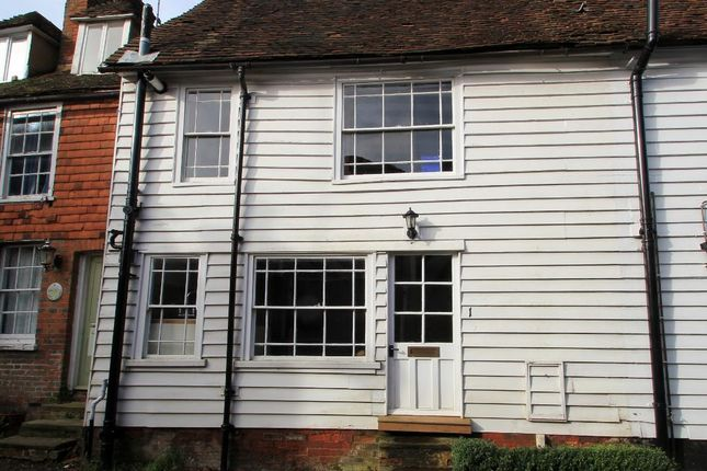 Thumbnail Terraced house to rent in Tippens Close, Cranbrook, Kent