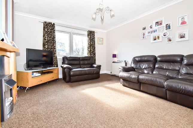 Thumbnail 3 bed flat for sale in Nailer Road, Camelon, Falkirk