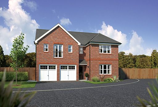 "Thumbnail Detached house for sale in ""Kingsmoor"" At Bolton Road, Adlington, Chorley PR6, Adlington,"
