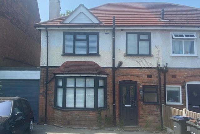3 bed semi-detached house to rent in Chester Road, Sutton Coldfield, West Midlands B73