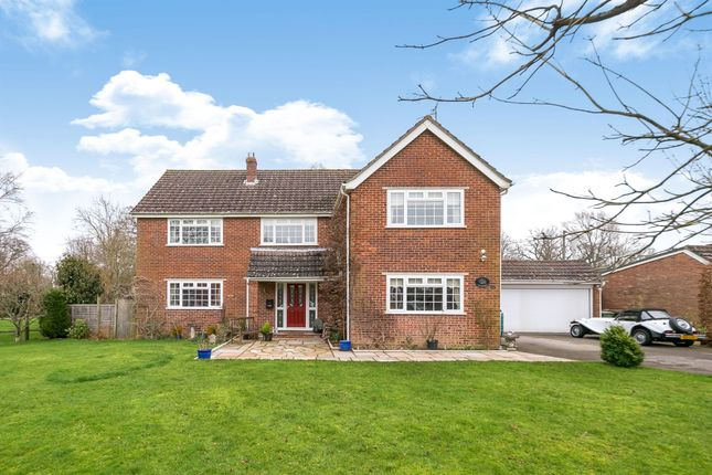 Thumbnail Detached house for sale in Fieldgate Close, Monks Gate, Horsham